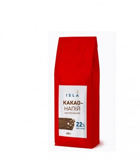 Какао-напій ISLA з сухим молоком та цукром, 250 г