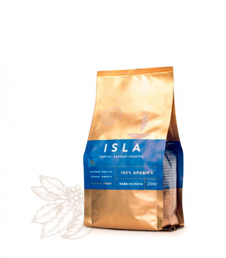 Кава ISLA SL мелена, 200 г