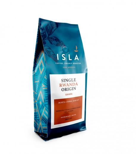 Кава ISLA в зернах, моносорт Руанда Gahara, 200 г