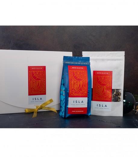 Подарунковий набір ISLA — кава + чай, коробка у подарунок