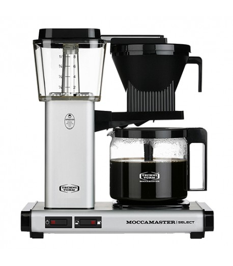 Фільтрова кавомашина Moccamaster KBG Select Matt Silver (53982)