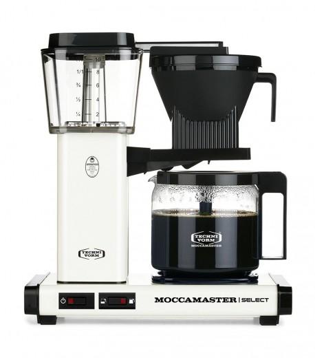 Фільтрова кавомашина Moccamaster KBG Select Off White (53974)
