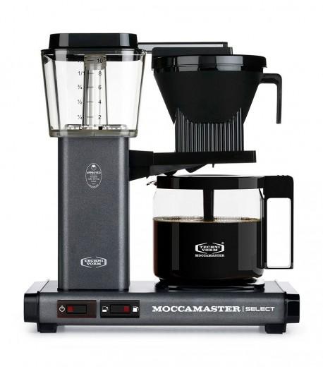 Фільтрова кавомашина Moccamaster KBG Select Stone Grey (53980)
