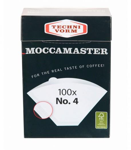 Фільтр паперовий Moccamaster Paper Filters №4, 100 шт.