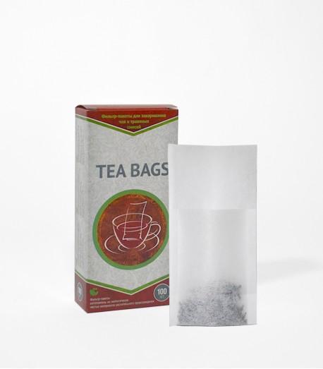 Фільтр-пакети для чаю, на чайник, 100 шт.