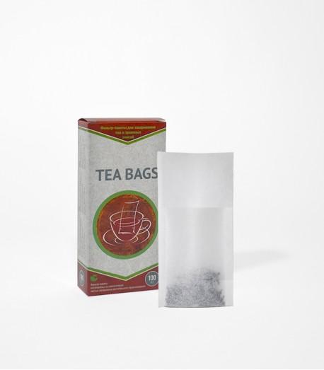 Фільтр-пакети для чаю, на чашку, 100 шт.