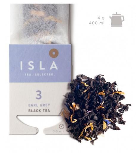 №3 Чай Isla чорний з бергамотом в фільтр-пакеті на чайник, 4 г х 10 шт.