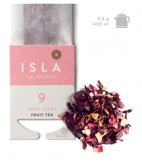 №9 Чай Isla фруктовий в фільтр-пакеті на чайник, 4,5 г х 10 шт.