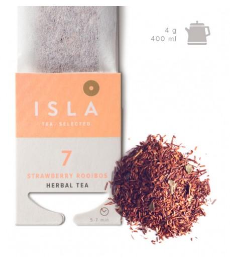 №7 Чай Isla трав'яний Ройбуш в фільтр-пакеті на чайник, 4 г х 10 шт.