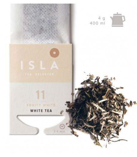№11 Чай Isla білий в фільтр-пакеті на чайник, 3,2 г х 10 шт.